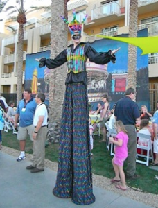 Cirque Stilts Stilt Characters
